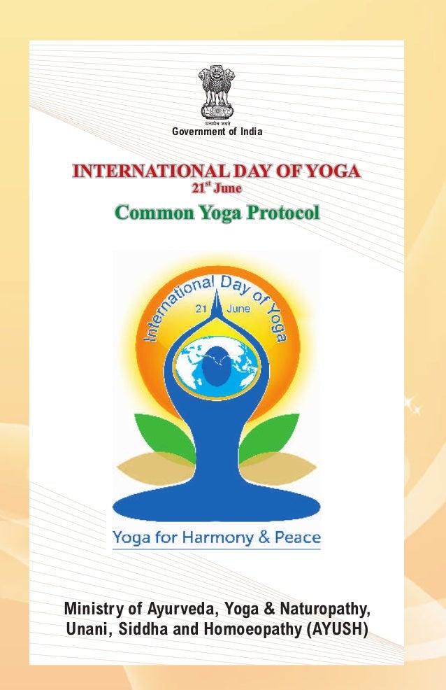 21 International Fashion Magazine You Ll Love: Common Yoga Protocol For The International Yoga Day'2015