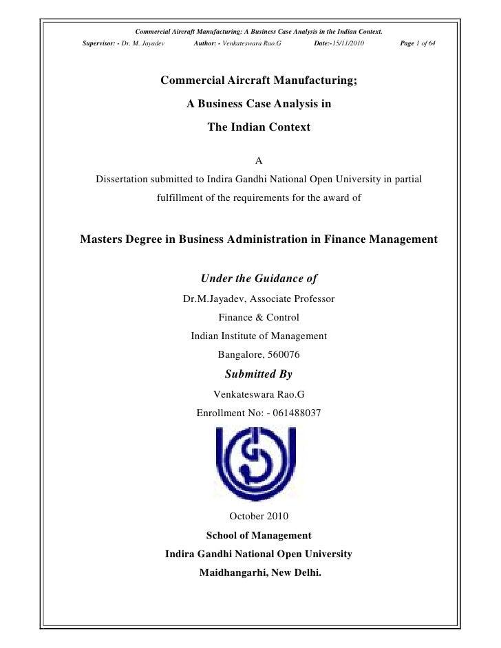 Hilton Manufacturing Co. HBS Case Analysis
