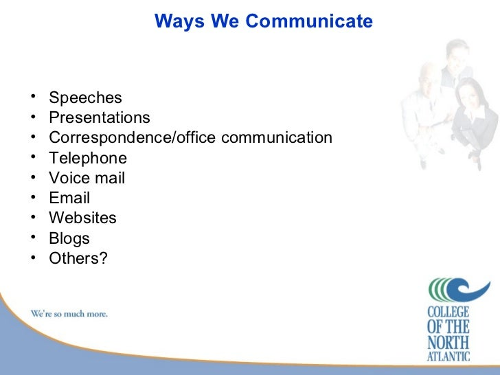 Inter Personal Communication Skills – Inter Office Communication