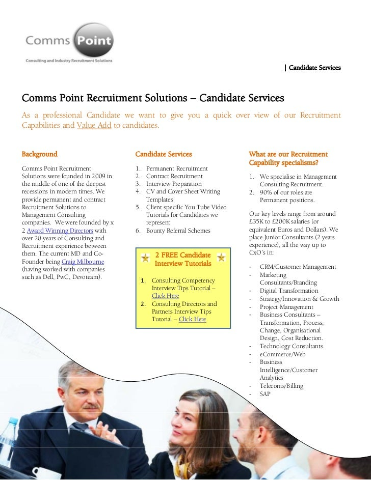 | Candidate ServicesComms Point R...