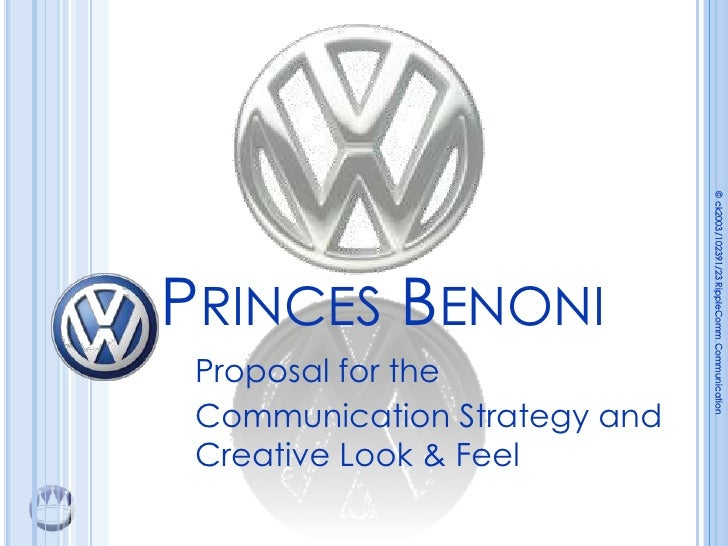 © ck2003/102391/23 RippleComm Communication                               © PRINCES BENONI  Proposal for the  Communicatio...