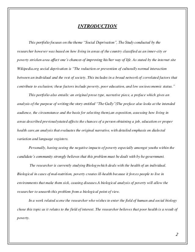 portfolio for communication studies