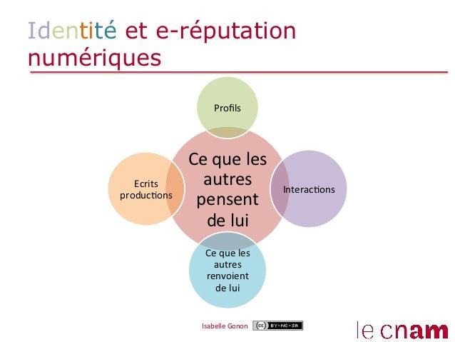 Identité et e-réputationnumériques                                  Profils                          Ce que les    ...
