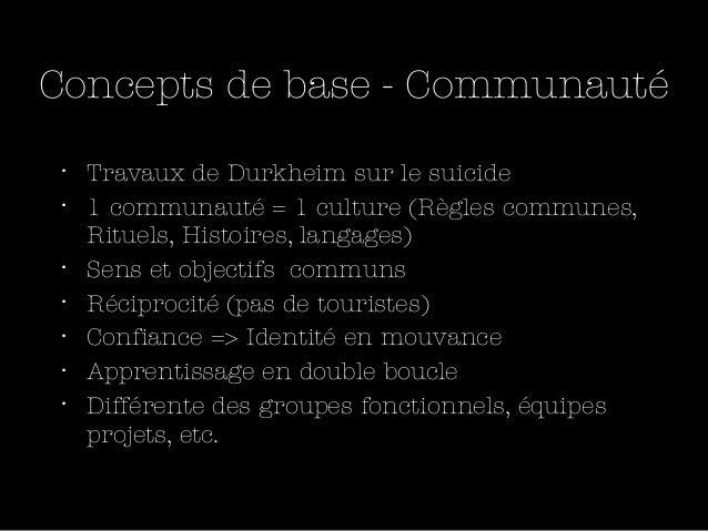 1 communauté = 1 Ba      Nonaka