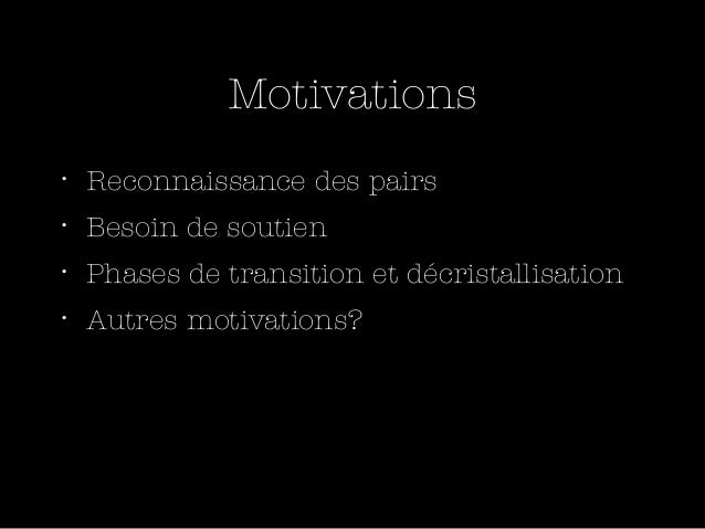 Un seul impératif = Créer de la    valeur pour membresCréation/Innovation…. pas uniquement partage d'infos