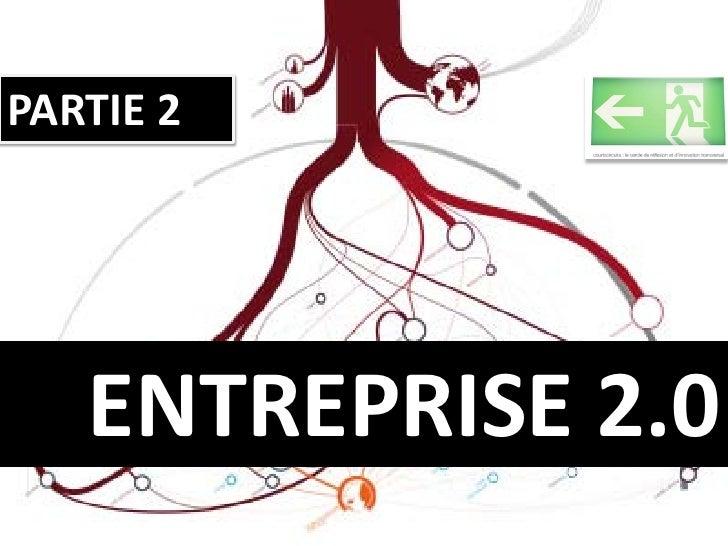 PARTIE 2        ENTREPRISE 2.0
