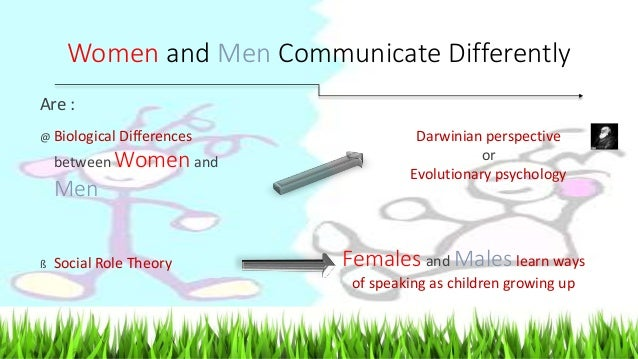 researching the differences in male and female communication Communication differences: male vs female the differences in male and female communication in join millions of other students and start your research.
