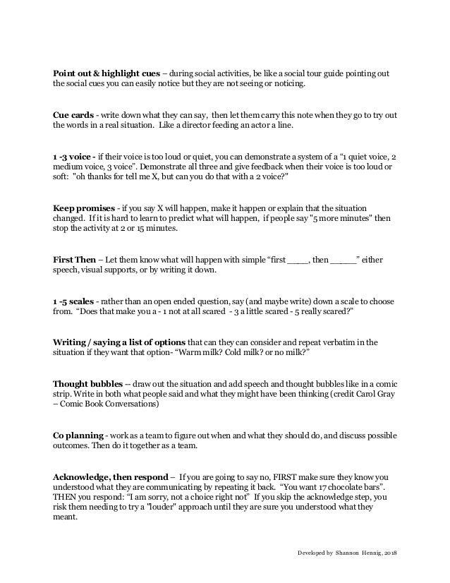 Communciation equation techniques - HANDOUT