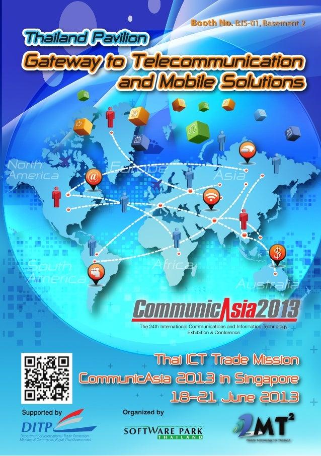 Thailand PavilionGateway to Telecommunicationand Mobile SolutionsThailand PavilionGateway to Telecommunicationand Mobile S...