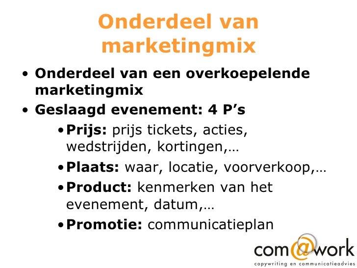 Communicatieplanning Voor Evenementen Slide 3
