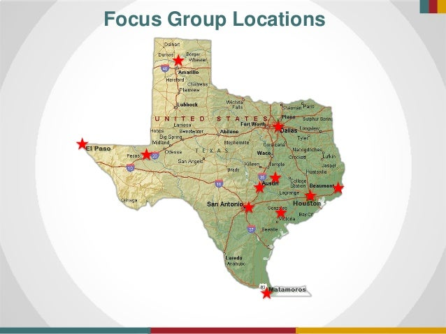 Focus Group Locations