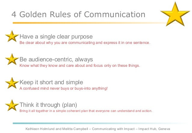 rules of communication Sharlyn lauby shares 10 tips for ensuring your peer-to-peer communications are effective.