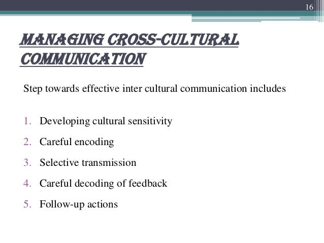 communicating across cross culture Communicating research in a way that delivers on all these counts is difficult and  varies across contexts and cultures one way to rise to the challenge is to share.