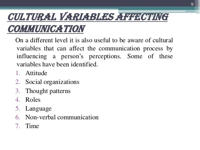 Communication affects most aspects of human interaction