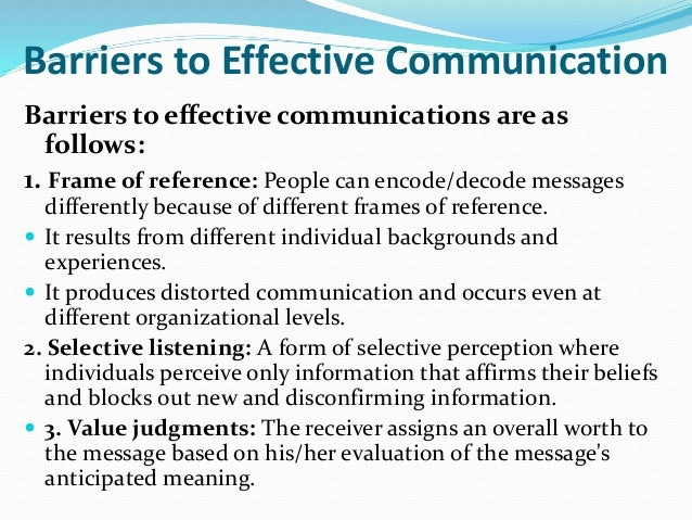 communicating differently