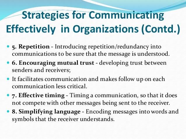 effective communication in organizations Effective organisational communication by:diana o ayorkor adjei.