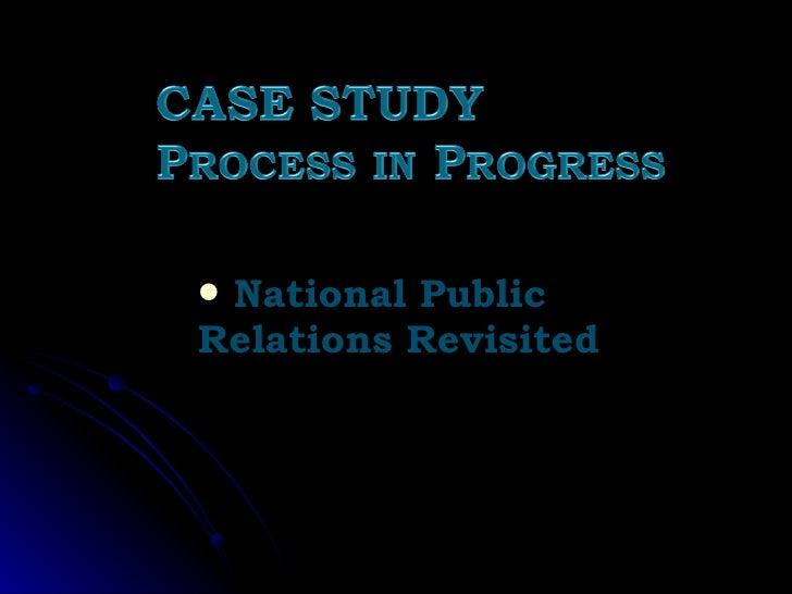 <ul><li>National Public Relations Revisited </li></ul>