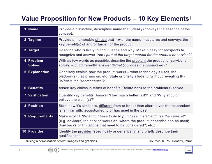 3 elements of proposition This article offers value proposition  conversion sciences has  limiting your hero shot to only the core elements of your value proposition will.