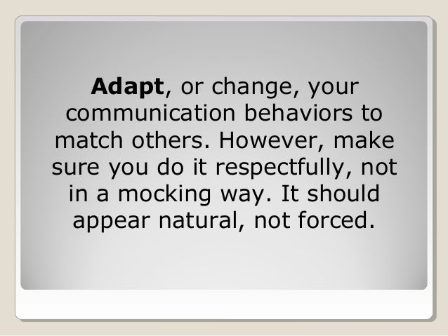 PROFESSIONAL COMMUNICATION: CULTURAL SENSITIVITY.