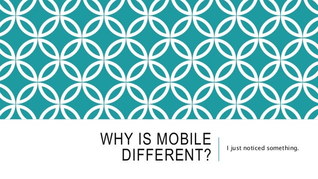 Communicating with Mobile Users Slide 2