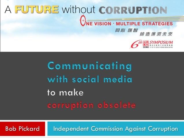 Independent Commission Against CorruptionBob Pickard