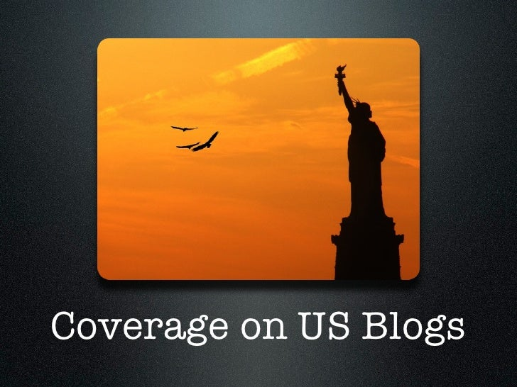 Coverage on US Blogs