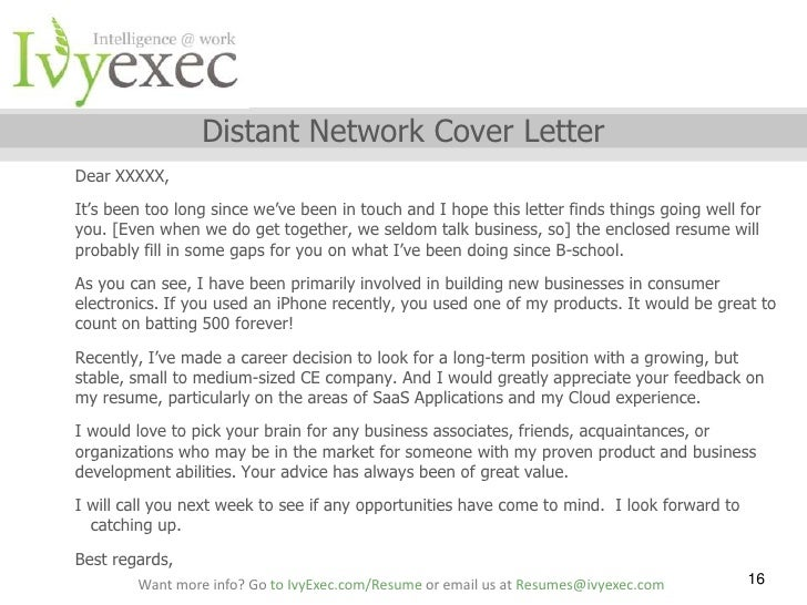 my cover letter