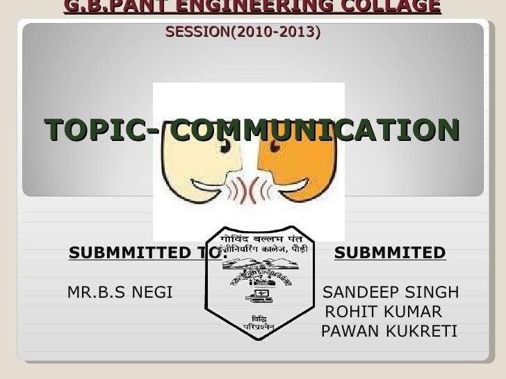 SUBMMITTED TO :  SUBMMITED BY : MR.B.S NEGI  SANDEEP SINGH ROHIT KUMAR PAWAN KUKRETI      G.B.PANT ENGINEERING COLLAGE   S...