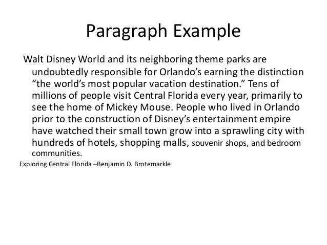 walt disney world conclusion Essays a rainy saturday at walt disney world by michael barrier [click here to read feedback about this essay] writing about john hench's book designing disney, as i did in a recent commentary, revived my interest in the disney theme parksin late january, when a business trip took me to orlando, i seized the opportunity to pay my first visit to the magic kingdom theme park at walt disney.