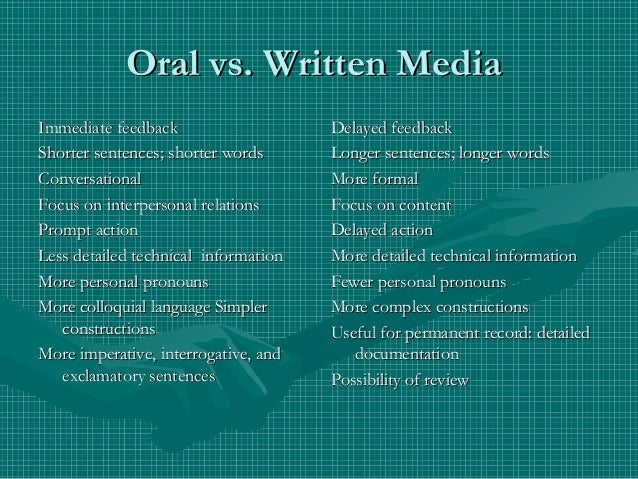 oral-versus-written-communication