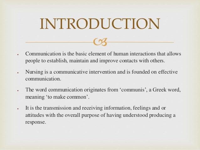 effective communication in nursing leadership