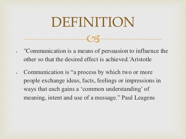 the communication process and its importance At its foundation, communication focuses on how people use messages to generate meanings within and across various contexts articulate the importance of communication expertise in career development and civic engagement adjust messages while in the process of communicating.