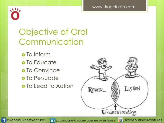 what are the importance of oral communication