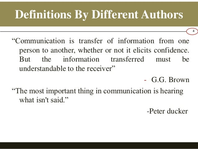 an introduction to the barriers to effective communication that exists in the situation Barriers can affect good communication communication is a process of transferring information between two individuals, the sender and the receiver for communication to be a success, the receiver must understand the message that the sender intended.
