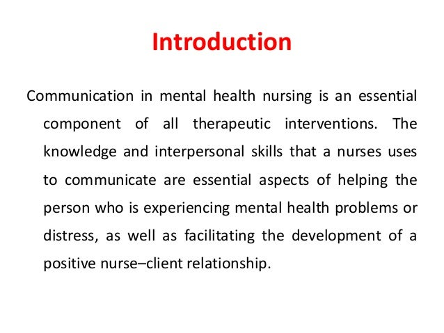 patient and person interpersonal skills in nursing pdf