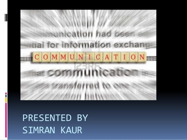 PRESENTED BY SIMRAN KAUR