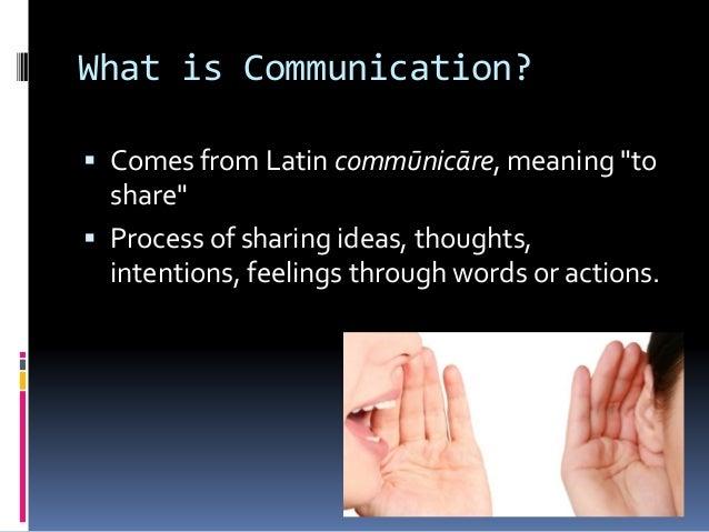 Communication Slide 2