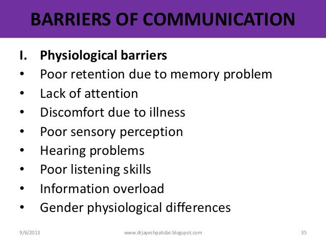 an analysis of communication barriers at metamorphosis studios Start studying coms 310 learn vocabulary barriers to downward communication th eplan includes an analysis of various audiences.