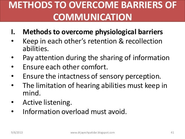 effect of communication barriers and overcoming The impact of language barrier there needs more of a focus on communication barriers it is essential to better understand how language barriers affect.