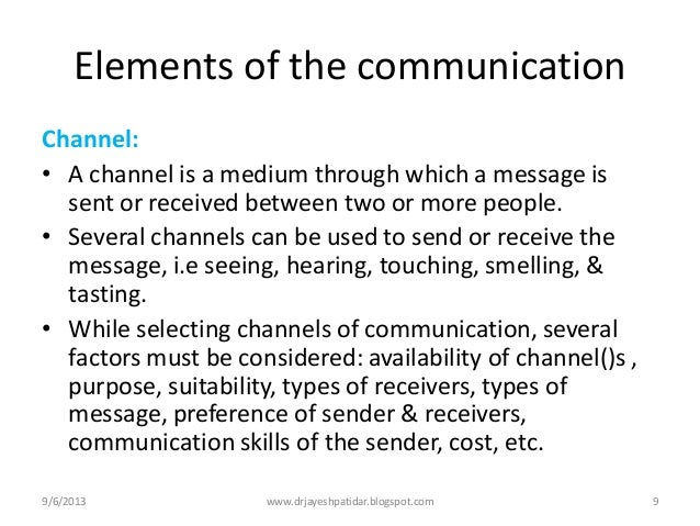 what communication channels are appropriate Leadership & strategy » internal communication » methods and channels   selection of the right communication channel depends on an understanding of  the.