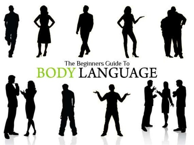 "• Body language is nonverbal communication that involves body movement. • ""Gesturing"" can also be termed as body language ..."