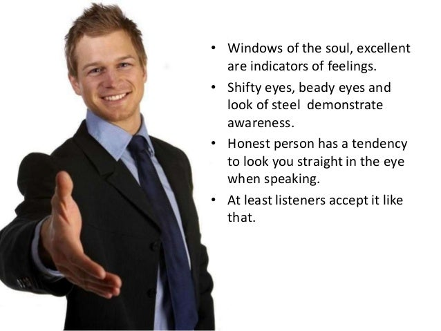 Body Dialect Looking At Unhappy While Talking