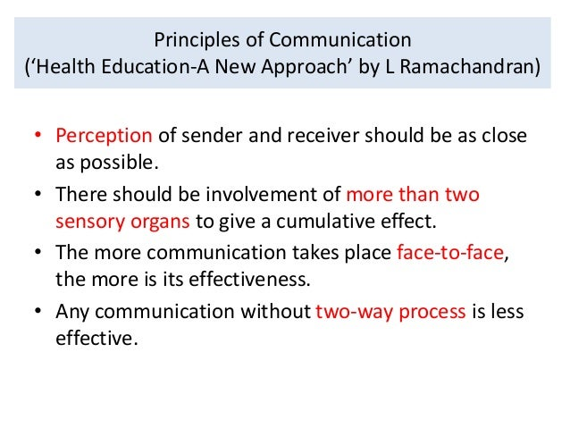 what is two way communication in health education