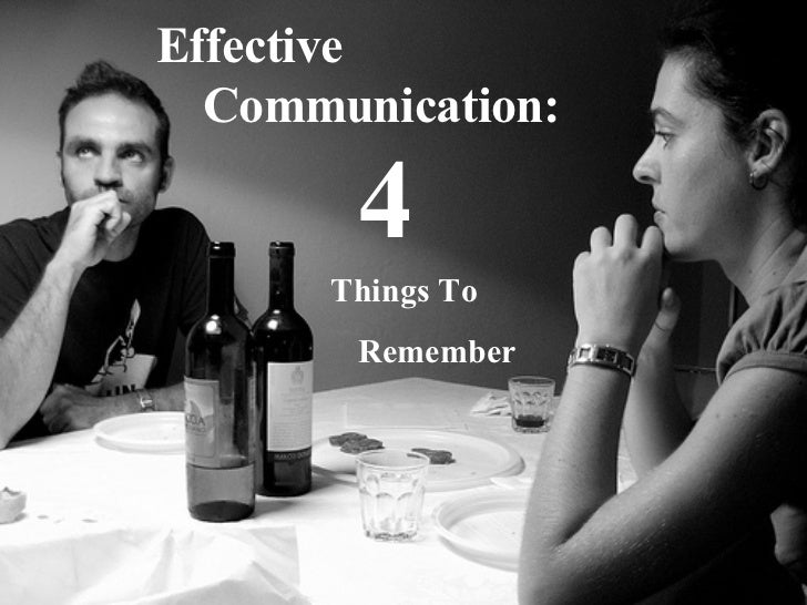 Analytical & Global Marking Effective 4 Things To Remember Communication: