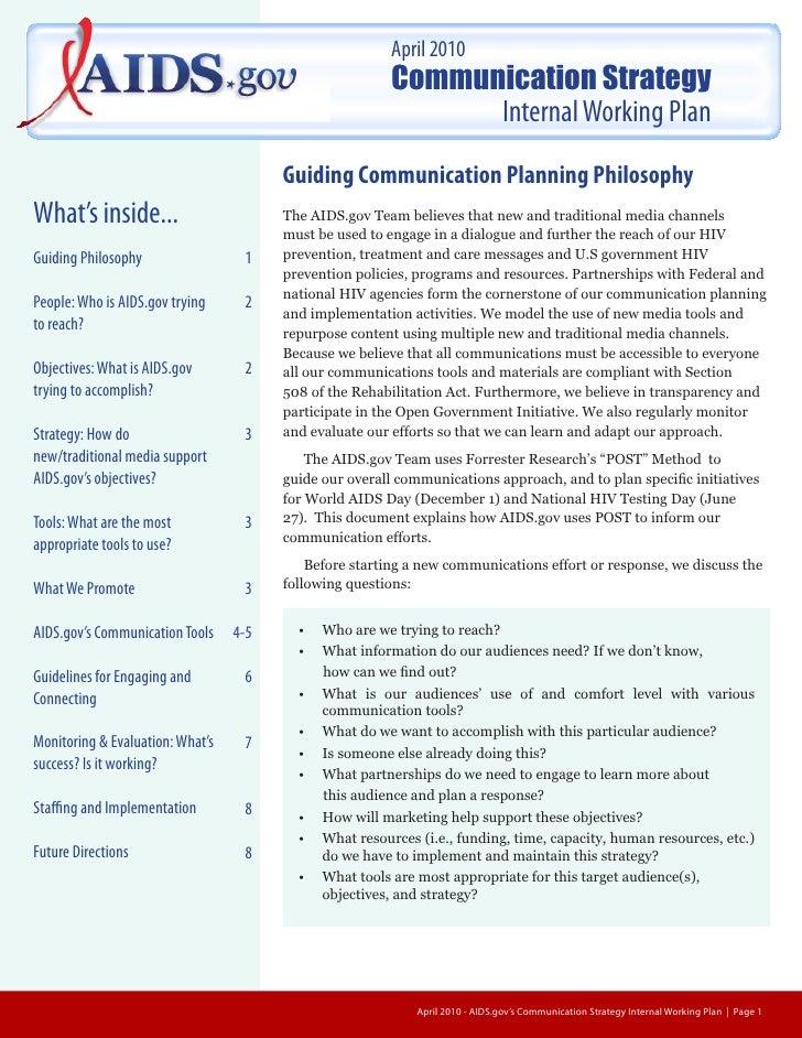 2010                                                               Communication Strategy                                 ...