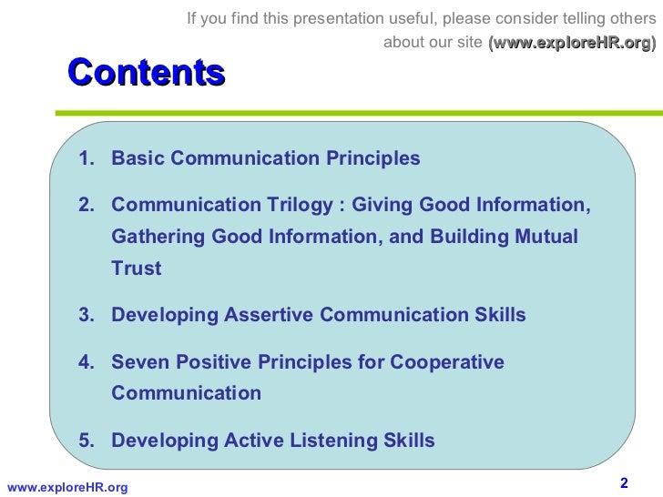 Communication  Skills     Slide 2