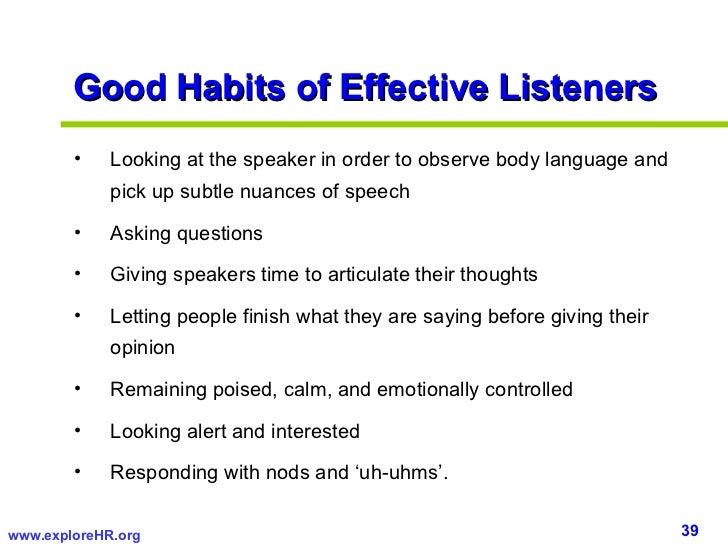 good habits speech in english