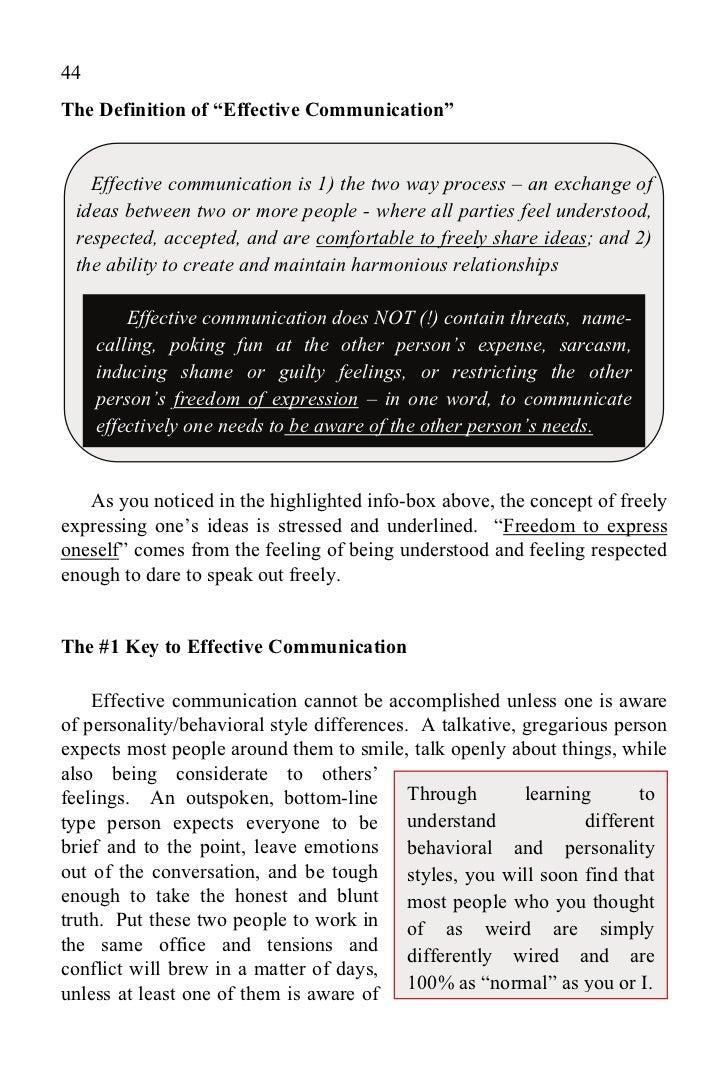describe your communication style communication skills magic e ...