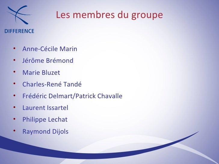 Les membres du groupe <ul><ul><li>Anne-Cécile Marin </li></ul></ul><ul><ul><li>Jérôme Brémond </li></ul></ul><ul><ul><li>M...