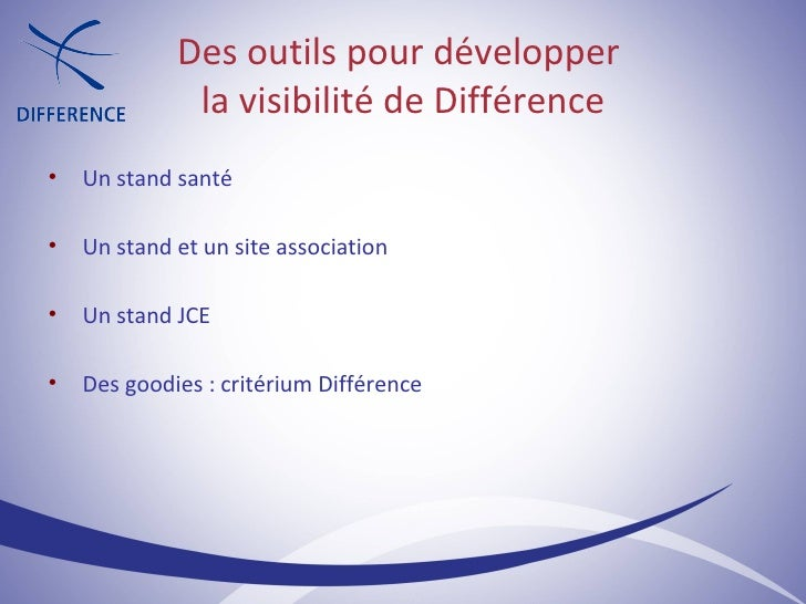 <ul><ul><li>Un stand santé </li></ul></ul><ul><ul><li>Un stand et un site association </li></ul></ul><ul><ul><li>Un stand ...